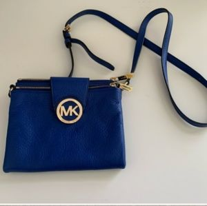 Blue MK Crossbody purse